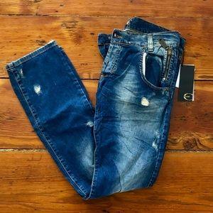Just Cavalli men's slim fit jeans.